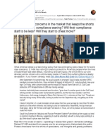 Oil's Stint Above $50 Ends - S.1460 is No Remedy