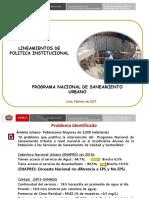 Lineamientos PNSU 2017 01 02