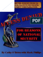 Cathy 'O Brien - Access Denied - For Reasons of National Security