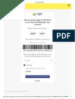 Ticket de Rapipago