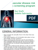 Cardiovascular Disease Risk Factors Screening Program