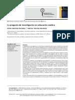 001.- Martínez-González_2015_La Pregunta de Investigación