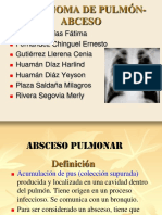 Carcinoma de Pulmon Abceso