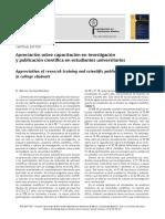 002.- Sánchez-Mendiola_2015_Apreciación Sobre Capacitación