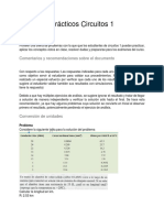 Ejercicios Prácticos Circuitos 1 V1.0