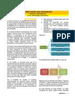 Lectura - ¿Cómo Hacer Una Infografía Esquema y Herramientas.