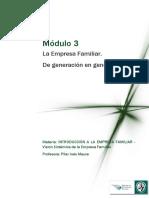 Lectura 3 - La Empresa Familiar de Generación en Generación (1)