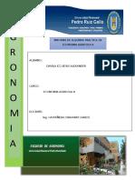 Informe de Segunda Practica de Economia II