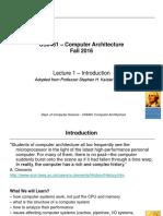 CS6461ComputerArchitectureLecture1.ppt