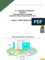 CS6461ComputerArchitectureLecture2.ppt