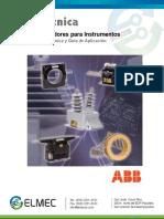 07 Ft Transformador Tipo Dona Instrumentacion Ct ABB Elmec Sa