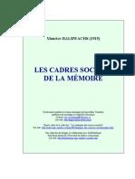 Halbwachs - 1925 - Les cadres sociaux de la memoire.pdf