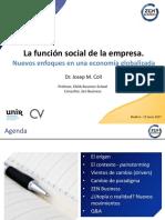 Función Social de la Empresa