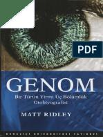 aaaaaaMatt Ridley Genom Boğaziçi Üniversitesi Yayınlarıaa
