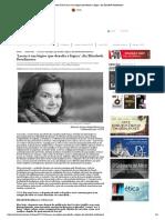 Revista Cult  ROUDINESCO 'Lacan é um lógico que desafia a lógica', diz Elisabeth Roudinesco