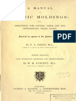 A Manual Gothic Moldings - F. a. Paley - 1864