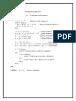 Algoritmo e Implementación