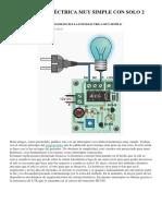 Célula Fotoeléctrica Muy Simple Con Solo 2 Transistores