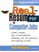 Anne McKinney - Real-Resumes for Computer Jobs