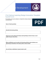21CLD Planning Template