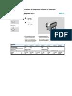 3 Opciones en Catálogos de Compresores Existentes en El Mercado