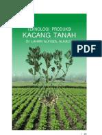 Teknologi Produksi Kacang Tanah