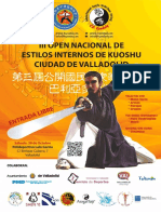 Dosier III Open Nacional de Estilos Internos de Kuoshu
