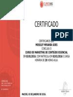 Curso de certificado