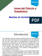 3.- Medidas de Variabilidad