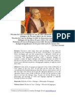 Nicolau de Cusa Em Diálogo No Ano de 1453