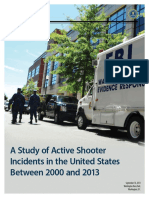 United States Active Shooter Incidents 2000-2013