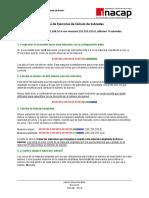 Guía de Ejercicios de Cálculo de Subredes