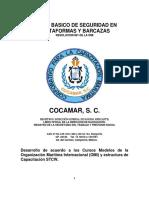 Manual Basico de Seguridad en Plataformas y Barcazas
