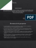 Presentación Defensa de Tesis DANILO JARA