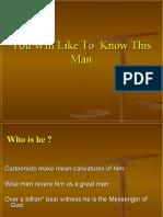 Know -Final Messanger-Muhammad,Jesus,