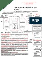 Procedimiento General Obras 2017