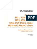 TANDBERG Codian MCU 4 0(1 49) Release Note[1]