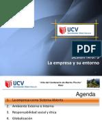 Sesión 3 - La Empresas y Su Entorno