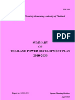 Thailand Power Development Plan (PDP