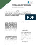 Informe de Laboratorio de Quimica Analitica 2