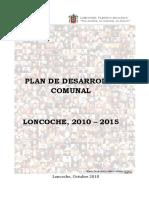 Plan de Desarrollo Comunal 2010 - 2015