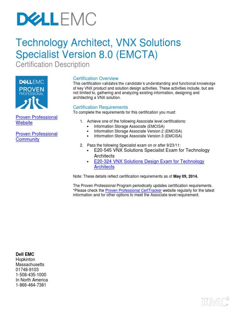 ... Array - e20 324 ta vnx solutions design exam test assessment computer  data rh scribd ...