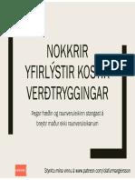 2017-10-07-Olafur-Margeirsson-Nokkrir-yfirlýstir-kostir-verðtryggingar