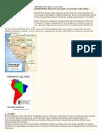 Peru Colonial y Organizacion Polit. Econ. Social