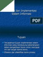 Testing Dan Implementasi Sistem Informasi