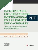 Influencia de Los Organismos Internacionales