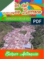 Programacion Fiestas del Cacique Barroso. Salgar, Antioquia 2017.pdf