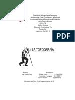 Trabajo de Topografia de Karla 13.9.16