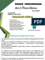Exposición.degradacion Quimica Del Suelo
