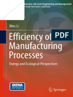 (Sustainable Production, Life Cycle Engineering and Management) Wen Li (auth.)-Efficiency of Manufacturing Processes_ Energy and Ecological Perspectives-Springer International Publishing (2015).pdf